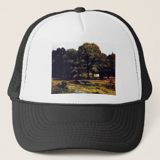 Chestnut Avenue in La Celle-Saint-Cloud by Sisley Trucker Hat