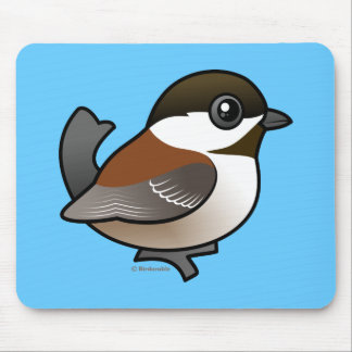 Chestnut-backed Chickadee Mouse Pads