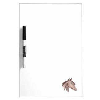 Chestnut Brown Horse Dry Erase Board
