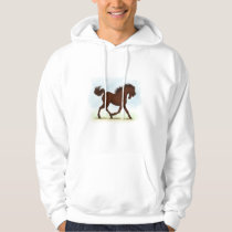 Chestnut Brown Horse Equestrian Hoodie