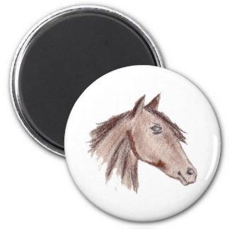 Chestnut Brown Horse Magnet