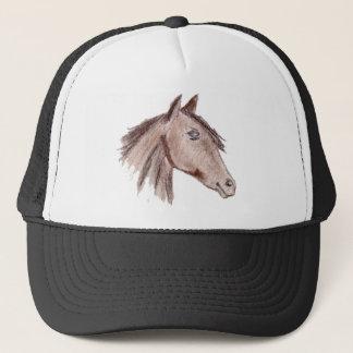 Chestnut Brown Horse Trucker Hat