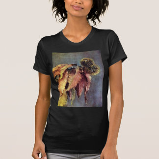 Chestnut Burrs and Leaves T-shirts