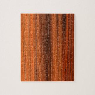 Chestnut Distressed wood grain floor Jigsaw Puzzle