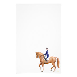 Chestnut Dressage Horse Stationery