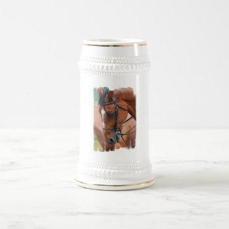 Chestnut Equine  Beer Stein 18 Oz Beer Stein