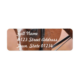 Chestnut Equine  Mailing Label