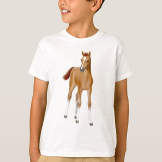 Chestnut Foal Kids T-Shirt
