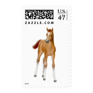 Chestnut Foal Postage