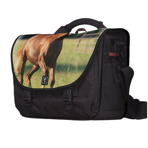 Chestnut Galloping Horse Commuter Bag