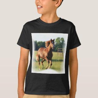 Chestnut Galloping Horse Men's T-Shirt