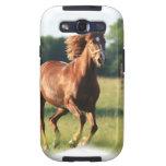 Chestnut Galloping Horse Samsung Galaxy Case Samsung Galaxy S3 Cover