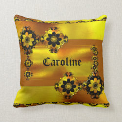 Chestnut Gold Personal Customised Pillow