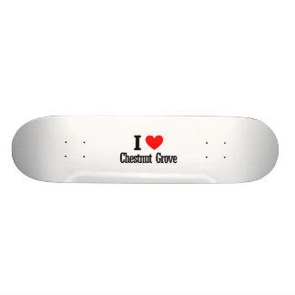 Chestnut Grove Alabama City Design Skateboard