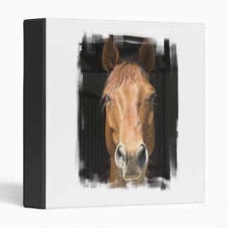 Chestnut Horse Binder