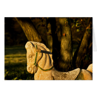 Chestnut Horse Greeting Cards
