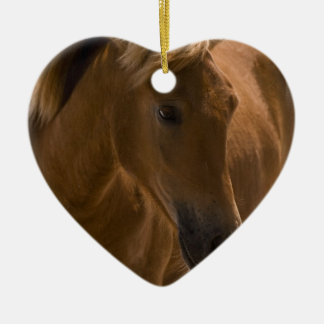 Chestnut Horse Design Ornament