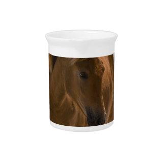 Chestnut Horse Design Pitcher