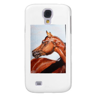 Chestnut horse galaxy s4 cover