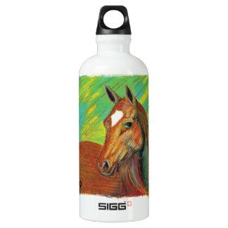 Chestnut Horse Head Art SIGG Traveler 0.6L Water Bottle