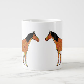 Chestnut Horse Large Coffee Mug