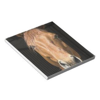 Chestnut Horse Notepad