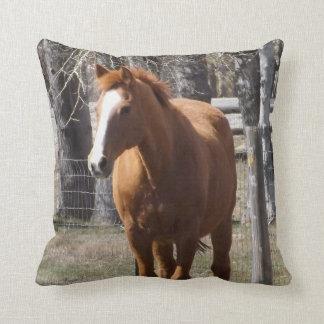 Chestnut Horse Pillow