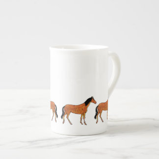 Chestnut Horse Tea Cup
