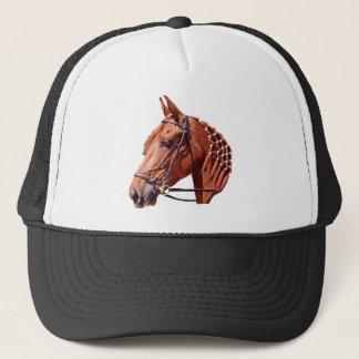 Chestnut Horse Trucker Hat