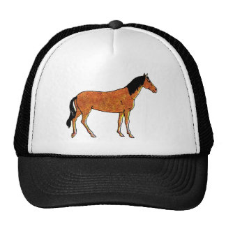 Chestnut Horse Trucker Hat