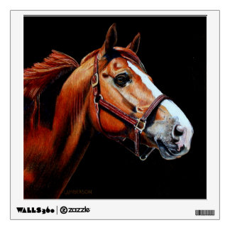 """""""Chestnut Horse"""" WALL DECAL"""