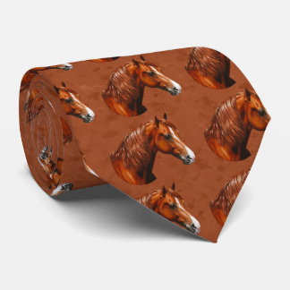 Chestnut Morgan Horse Rusty Red Tie