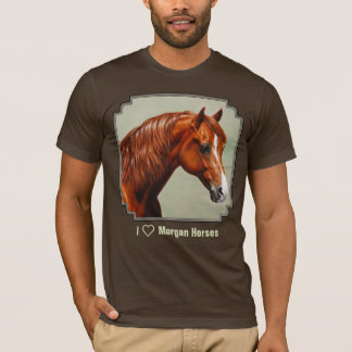 Chestnut Morgan Horse T-Shirt