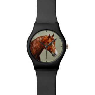 Chestnut Morgan Horse Watch