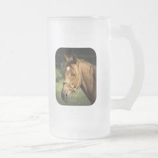 Chestnut Pony Frosted Beer Mug