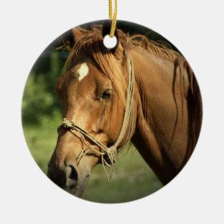 Chestnut Pony Ornament