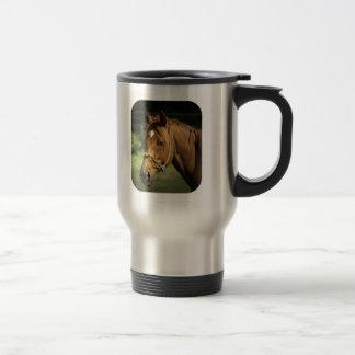 Chestnut Pony Stainless Travel Mug