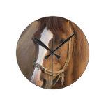 Chestnut Quarter Horse Clock