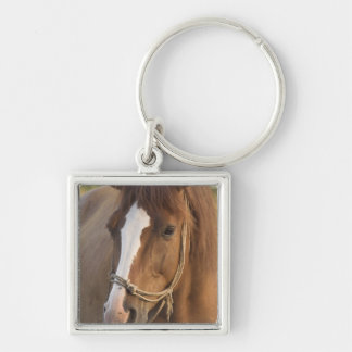 Chestnut Quarter Horse Keychain