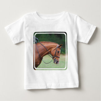 Chestnut Show Horse Baby T-Shirt