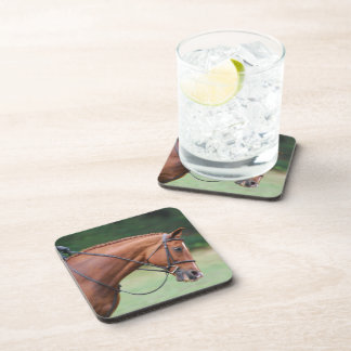 Chestnut Show Horse Cork Coasters
