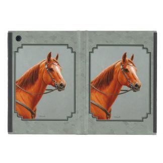 Chestnut Sorrel Quarter Horse Sage Green Cover For iPad Mini