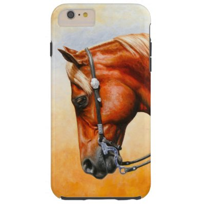 Chestnut Sorrel Western Quarter Horse Barely There iPhone 6 Plus Case