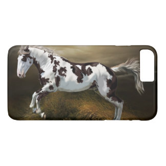 Chestnut Splash Frame Tovero Paint Horse iPhone 7 Plus Case