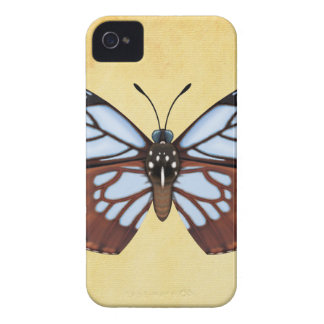 Chestnut Tiger Butterfly iPhone 4 Cover