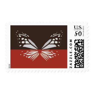 Chestnut Tiger Butterfly Postage Stamp