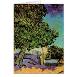 Chestnut Tree in Blossom Greeting Cards