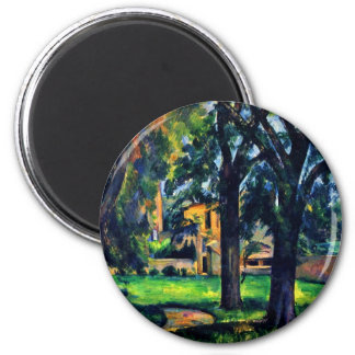 Chestnut Trees And Outbuildings Of The Jas De Fridge Magnets