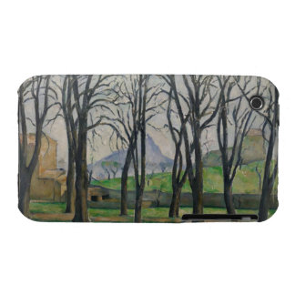 Chestnut Trees at Jas de Bouffan, c.1885-86 iPhone 3 Covers