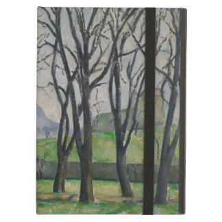 Chestnut Trees at Jas de Bouffan, c.1885-86 iPad Cover